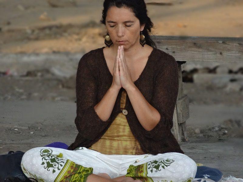 intención de meditar